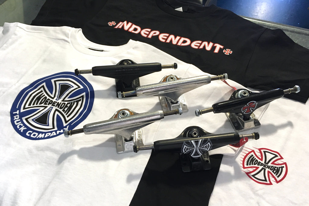 New Independent T-Shirts and Fully Stocked on Trucks!!