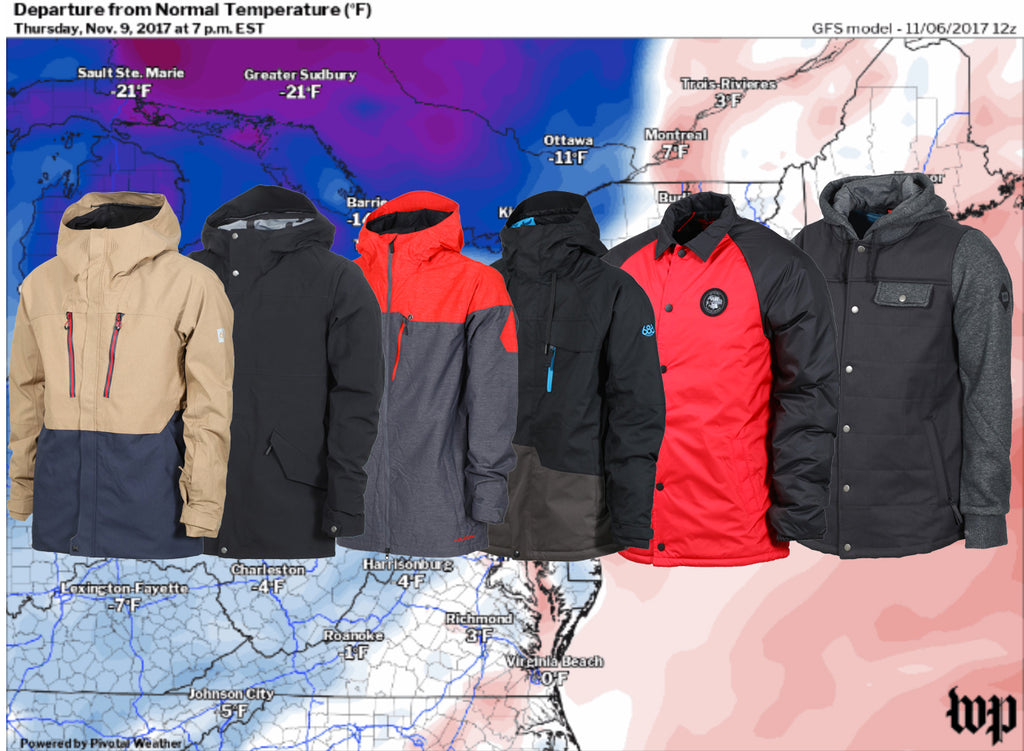 Keep Warm With Insulated Jackets