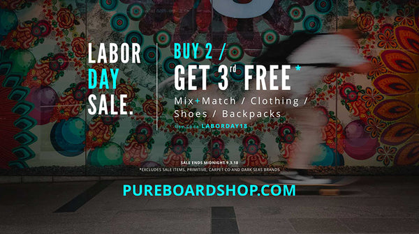 Labor Day Weekend Buy 2 Get 1 Free Sale - Clothing, Shoes, Backpacks & More!