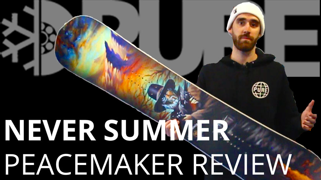 Never Summer Peacemaker 2019 Review – Pure Board Shop 02fe5712f24