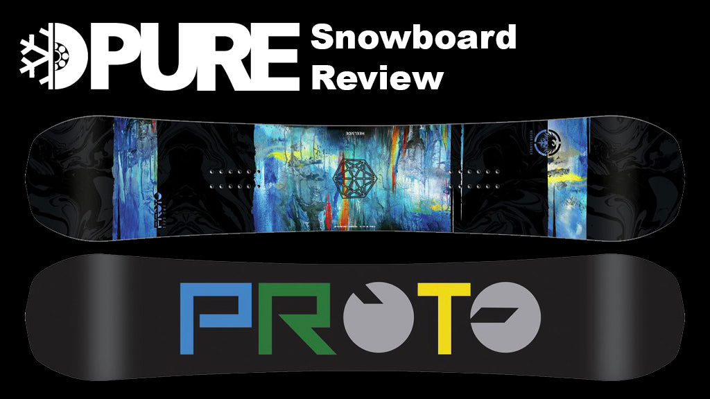 Never Summer Proto Type Two Snowboard 2018 Review