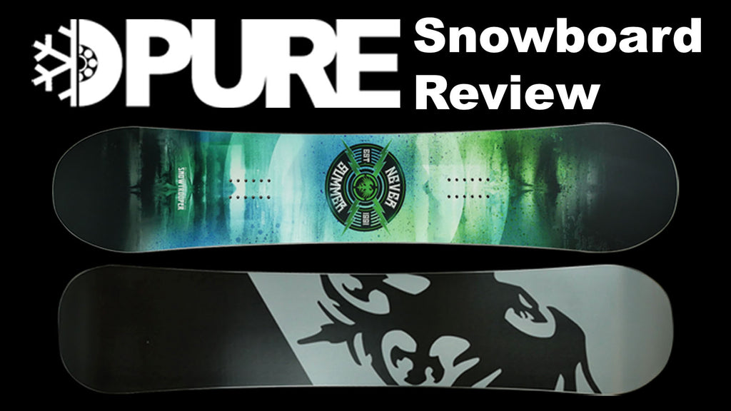 Never Summer Snowtrooper Snowboard 2018 Review