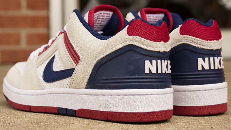 Nike SB Air Force II Low Skate Shoes Available Now - Pure
