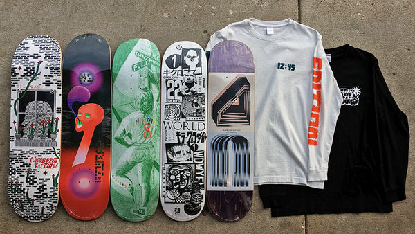 Shop Numbers Edition 4 Skateboards and Clothing Now