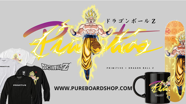Primitive X Dragon Ball Z Core Collection Available Now