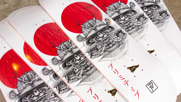 Primitive Samurai P Rod Skateboard Restock Now Available