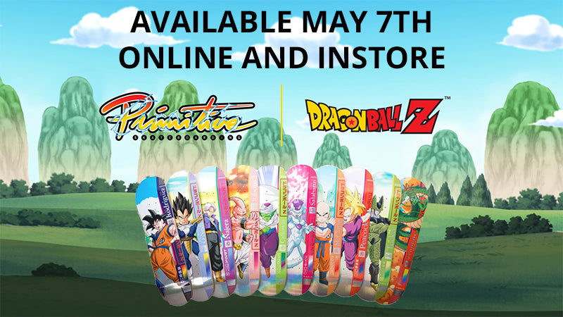 Primitive Dragon Ball Z Skateboards Available For Pre-Order Now