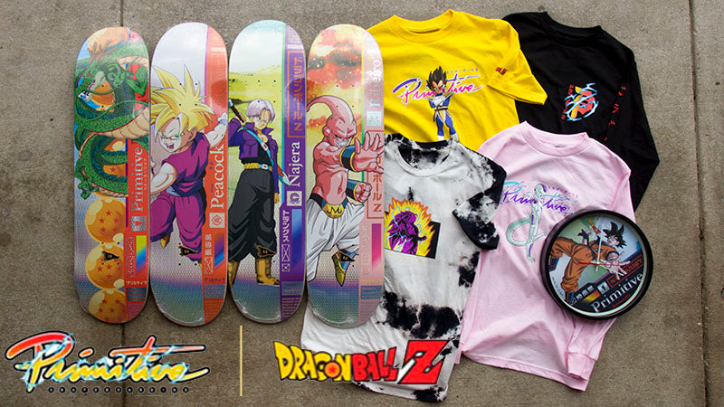 Primitive x Dragon Ball Z Skateboards & Clothing Restock!
