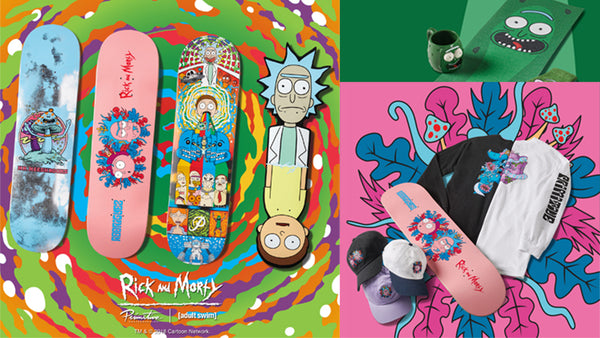 Rick and Morty - Pre-Order Primitive X Rick and Morty Skateboards & Clothing Now!