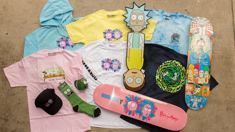 Primitive x Rick and Morty Skateboards & Clothing Now Available