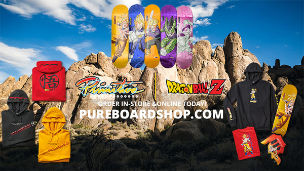 NEW Primitive X Dragon Ball Z 2 Skateboards & Clothing - Pre Order Now!