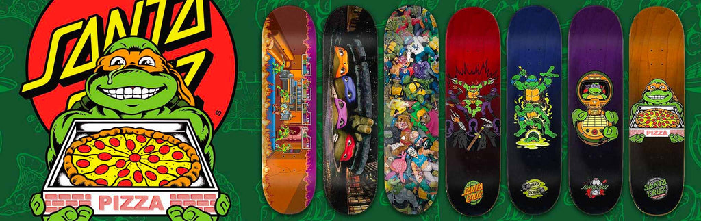 Santa Cruz X Teenage Mutant Ninja Turtles Skateboards, Hoodies & T-shirts!