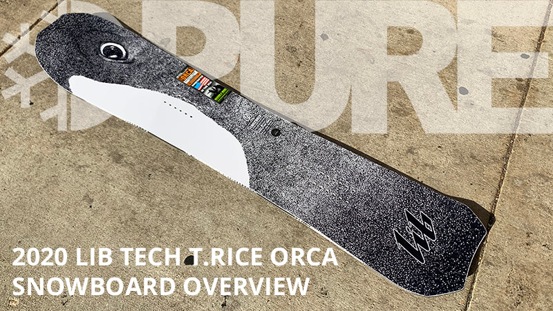 2020 Lib Tech T.Rice Orca Snowboard Overview