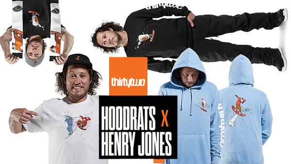 Thirtytwo Hoodrats X Henry Jones Collection Now Available