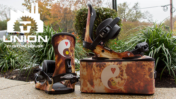 Union X Gnarly Clothes Snowboard Bindings