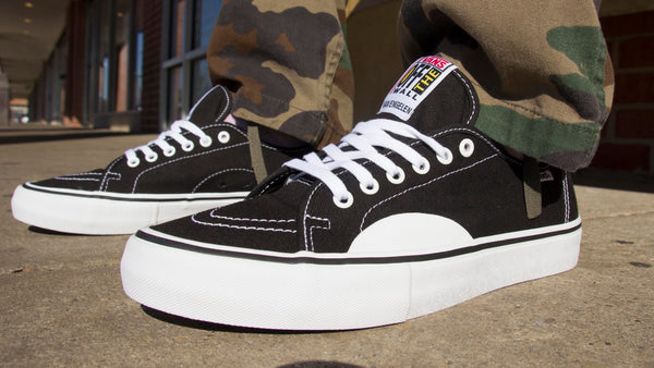 Vans AV Classic Pro Now Available in Canvas Black/White
