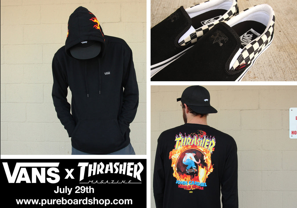 Vans X Thrasher Magazine Collection