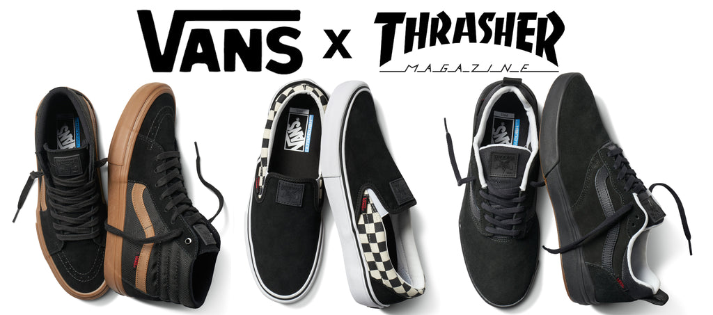 Vans X Thrasher Collection Now Available