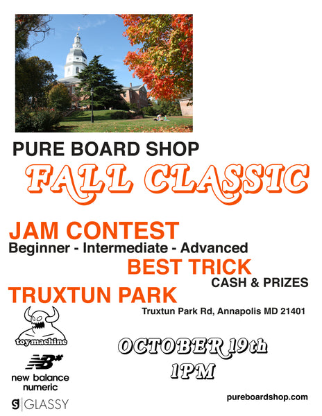pure board shop fall classic skateboard jam best trick contest annapolis