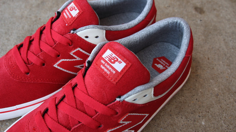 New Balance Numeric 254 skate shoes team red sea salt nm254trs pure board shop