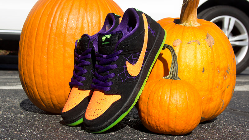 Nike SB Mischief Dunk Low Pro Black Total Orange BQ6817 006 Halloween Dunk Low pure board shop