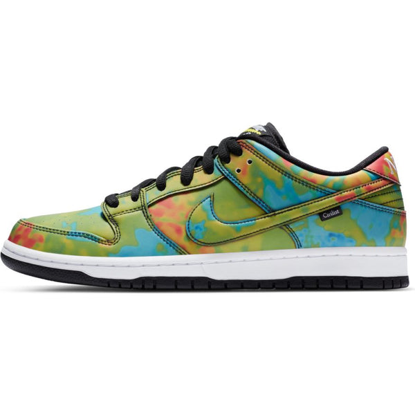 Nike SB Civilist Dunk Low Pro Quick Strike Black Multi Color White CZ5123-001 pure board shop