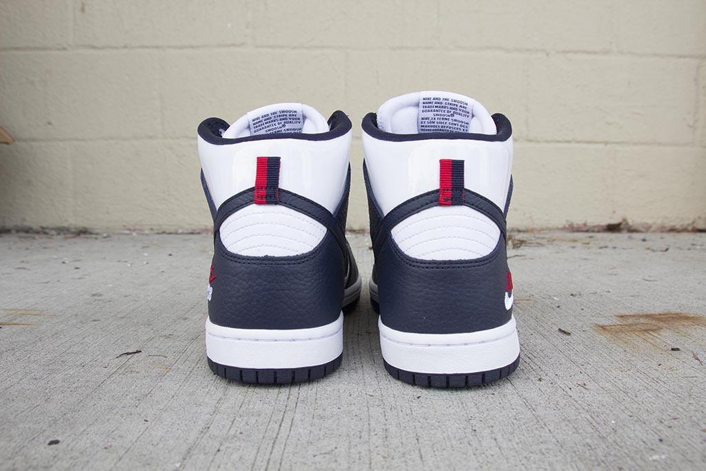 sale retailer 029b9 d55db Nike SB Future Court Dunk High Pro ObsidianObsidian-White 854851-411 pure