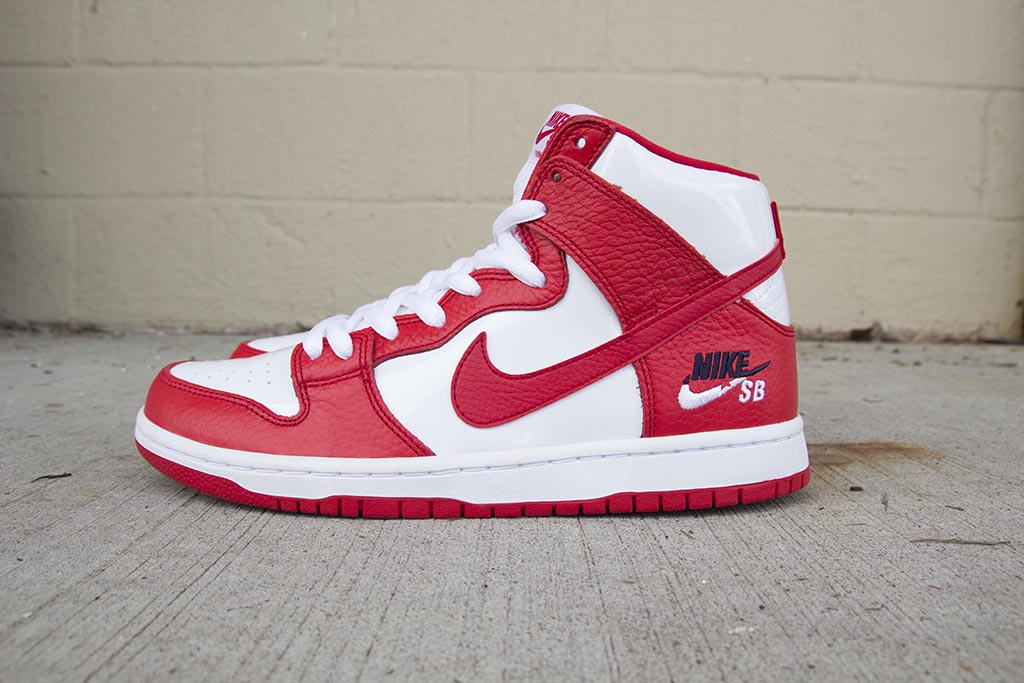 Nike SB Future Court Dunk High Pro University Red/University Red-White 854851-661 pure board shop