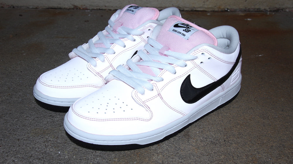 Nike SB Dunk Low Elite Prizm Pink Black White 833474 601
