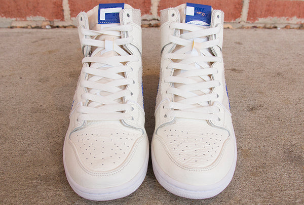 Nike SB X Soulland Zoom Dunk High Pro Quickstrike Sail/Game Royal-White AH9613-141 pure board shop