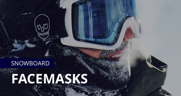 Snowboard Facemasks - Airhole facemasks, Black Strap Facemasks, snowboarding facemasks, 2019 snowboarding facemasks - buy online