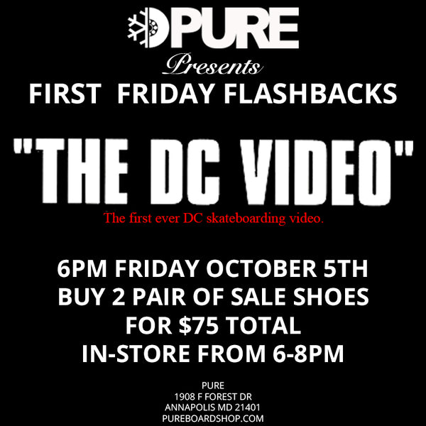 the dc video pure board shop