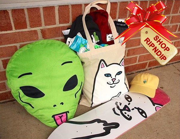 shop ripndip clothing gift idea