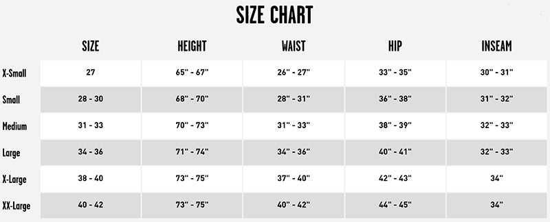 volcom mens snowboard pants size chart pure board shop