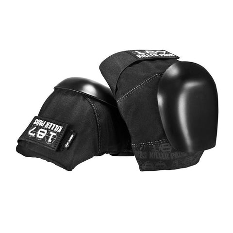187 Killer Pads Pro Knee Pads Black/Black - Pure Boardshop