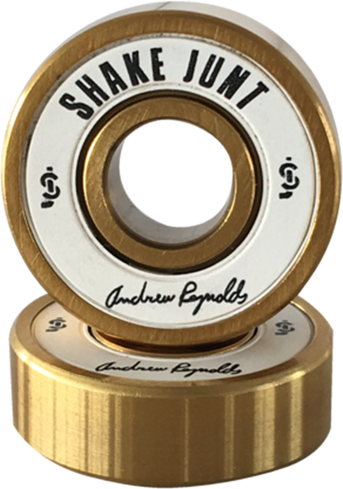 Shake Junt Reynolds Pro Bearings Wht/Gold Single Set