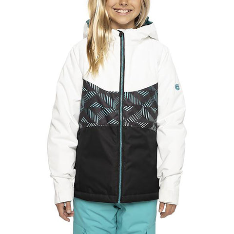 686 Athena Insulated Girls Snowboard Jacket Cross Hatch Fade Pure Board Shop