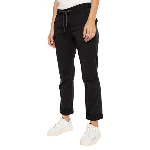 686 Everywhere Womens Pants Goblin Black pure board shop