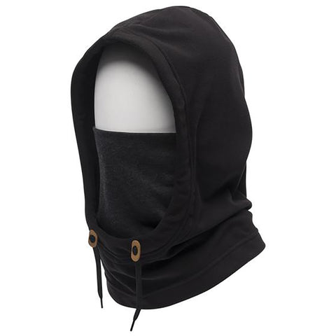 686 Tarmac Fleece Hood Black Pure Board Shop
