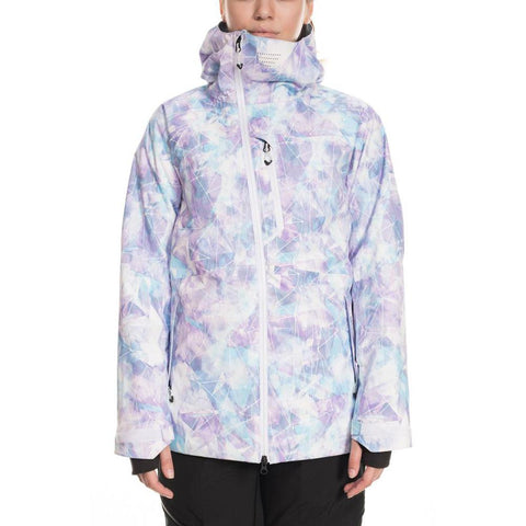 686 GLCR Hydra Insulated Womens Snow Jacket Washed Indigo Suncatcher  L9W304_WIPR pure board shop