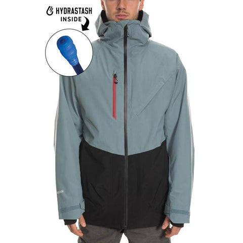 686 GLCR Hydrastash Reservoir Insulated Mens Snowboard Jacket Goblin Blue L9W105_GOBL_01 pure board shop