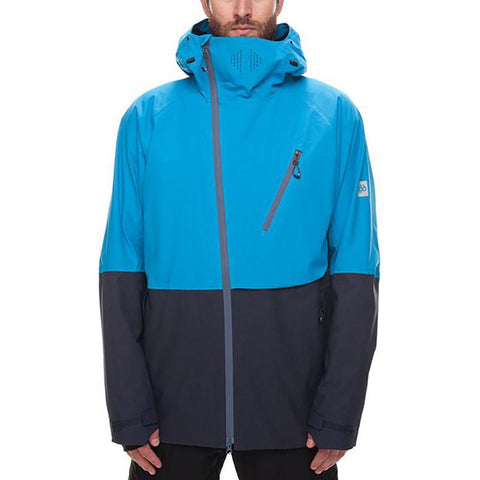 686 Glacier Hydra Thermagraph Snow Jacket 2018 Blue Bird Twill Colorblock pure board shop