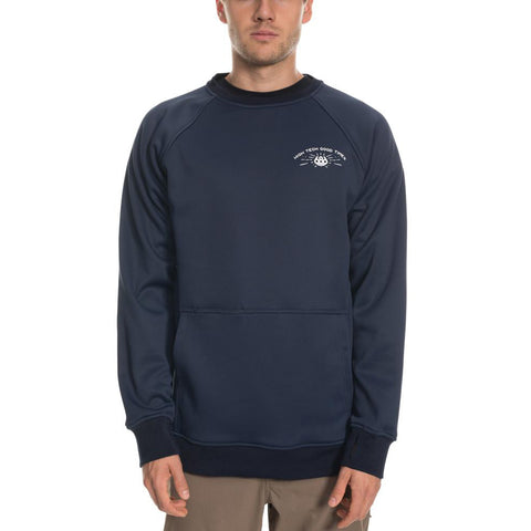686 686 Knockout Bonded Fleece Crewneck Pure Board Shop