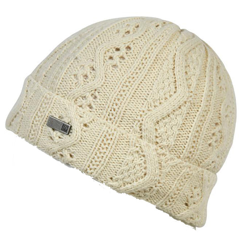 686 686 Majesty Cable Knit Beanie Pure Board Shop