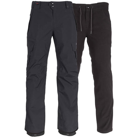 686 Smarty Cargo 3 in 1 Mens Snowboard Pants Black KCR210 686 Winter 2019 pure board shop