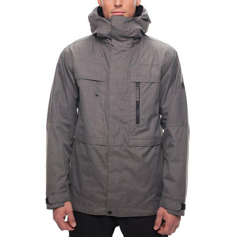 686 Smarty Form Snow Jacket 2018 Charcoal Melange pure board shop