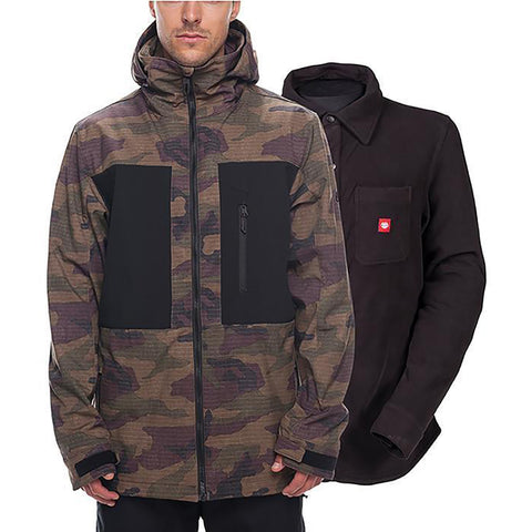 686 Smarty Phase 3-in-1 Softshell Snowboard Jacket 2019