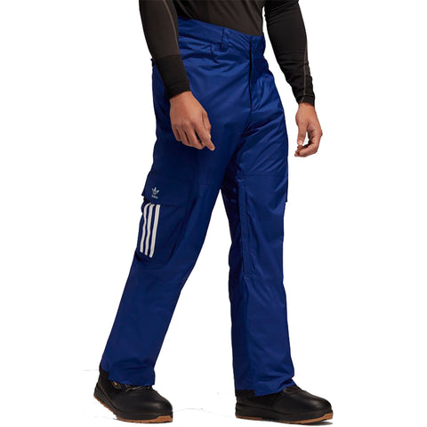 Adidas 10K Cargo Snowboard Pants Blue FJ7496 pure board shop