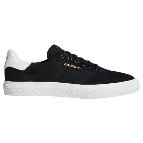 Adidas 3MC Vulcanized Skate Shoe Black White Black B22703 adidas skateboarding pure board shop