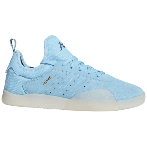 Adidas 3ST003 Skate Shoes Milas Silvas Playboys B42259 CLEAR BLUE COLLEGIATE NAVY WHITE B42259 adidas q4 2018 pure board shop